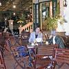 moderne café i gammel fransk villa