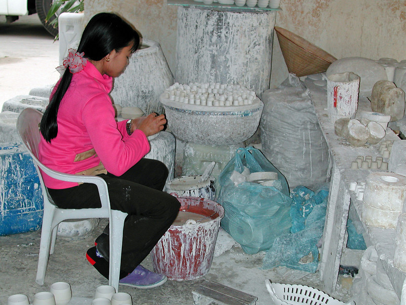 besøg i keramiklandsby