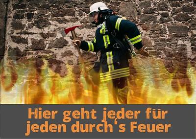 Feuerwehr Dörentrup Logo/Foto/Text/Grafik/Werbemittel