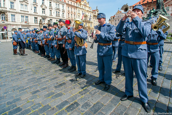 Mobilizační pochod – Praha  26. 7. 2014