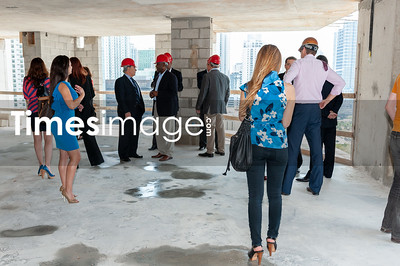 The Related Group Celebrates MYBRICKELL Top Off Party 500 Brickell Ave. Miami