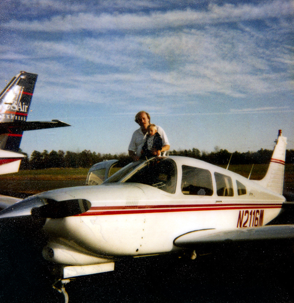 Linwood, Ben and Plane M2116M maybe early 1992