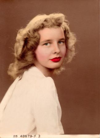 Betty Weakley Restored Portrait