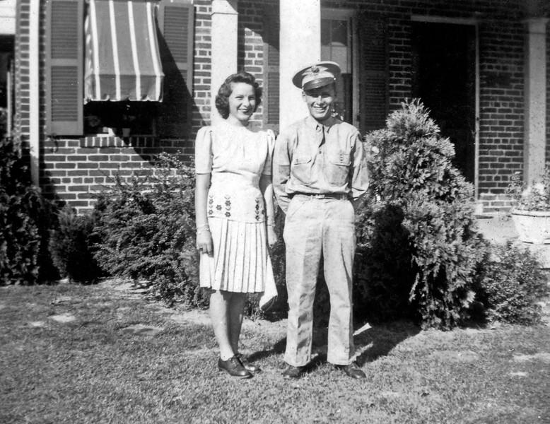 Otis in Uniform circa 1943
