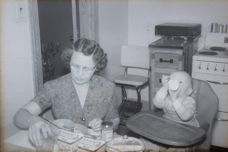 Linwood and Ruth circa 1956