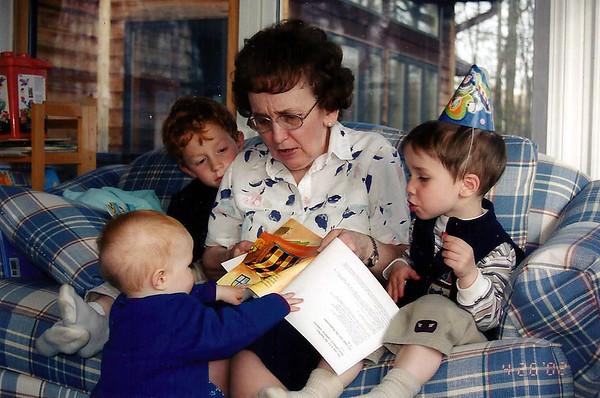 Barbara Smith and Grands 2003