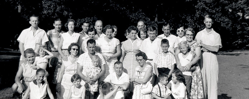 Duke Family Reunion at Bryan Park 1958