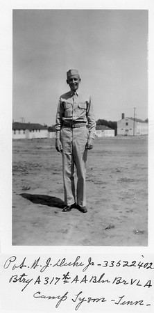 W.J. Duke Jr. Military Photo 1943