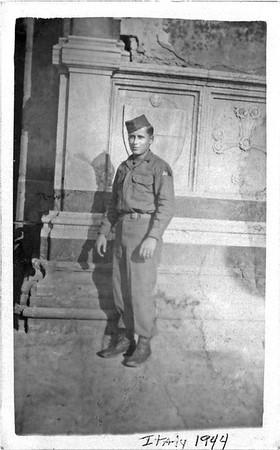 Otis in Italy 1944