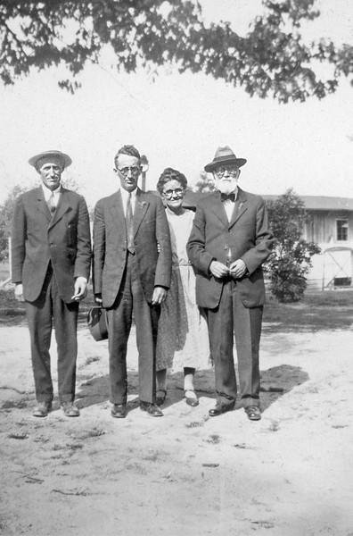 Bettie, Cabell and ? circa 1925