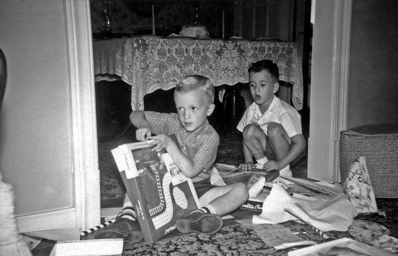 Linwood & Gary Birthday Oct 1959