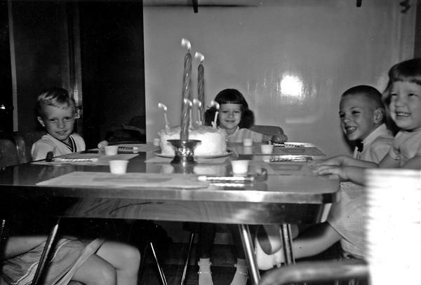 Linwood_Fifth Birthday Oct 1960