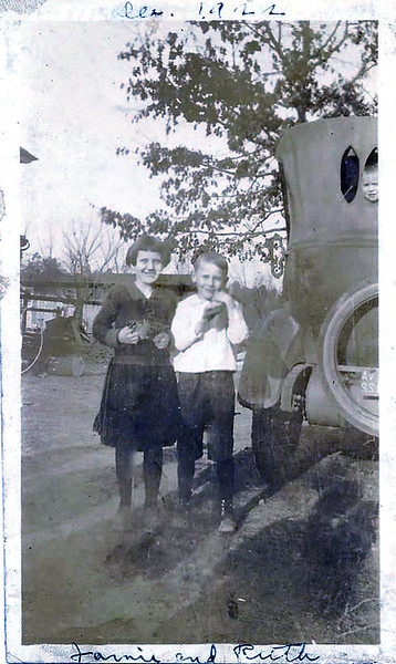 Jimmie and Ruth Dec 1922