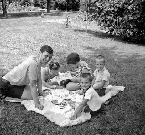 Wayne and Crew Kids Summer 1969