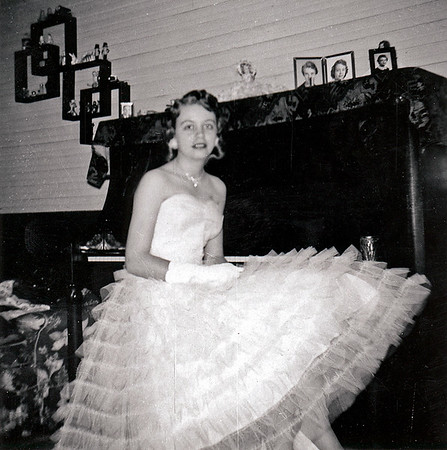 Bettie Mae at Piano 1959 (maybe)