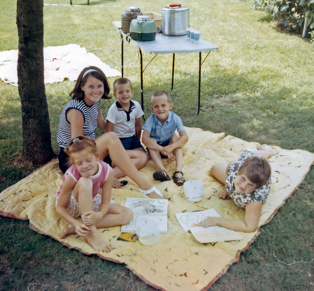 Diane and Crew Kids Summer 1969