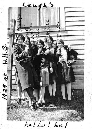 Ruth in Highscool Circa 1927