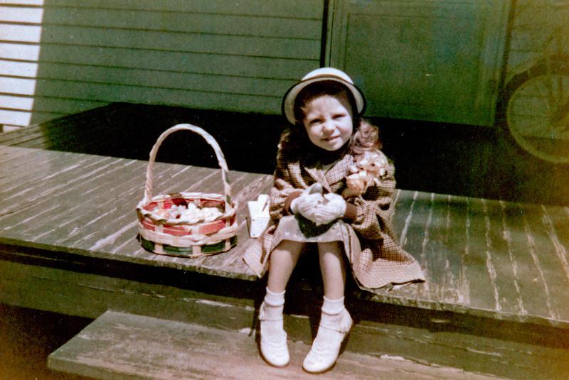 Easter Girl 1954