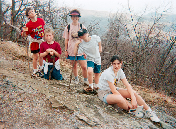 Gibsons and Hiking 2000