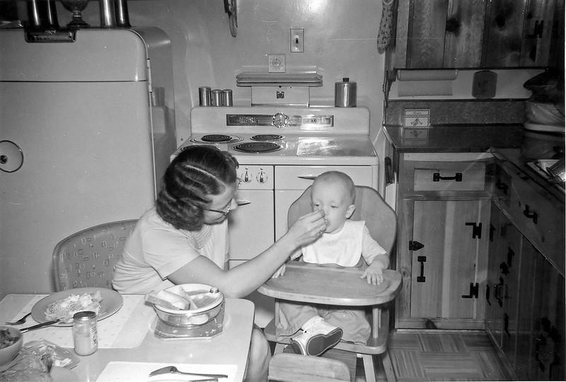 Linwood Eating circa 1956