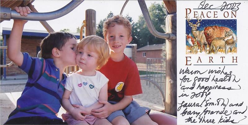 Lauren, Mitchell, Christopher 2003