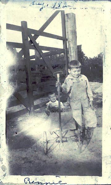 Bennie Duke Aug 1923