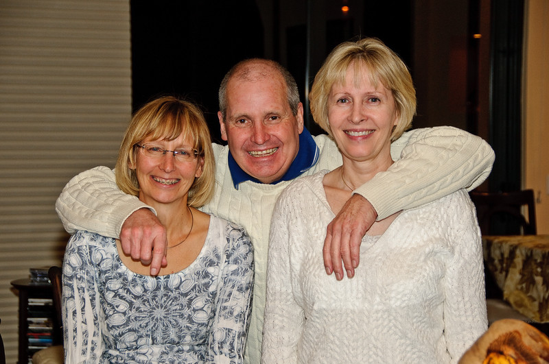 Christmas 2009 with Carolyn (Cousin)