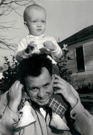 Linwood and Father circa 1956