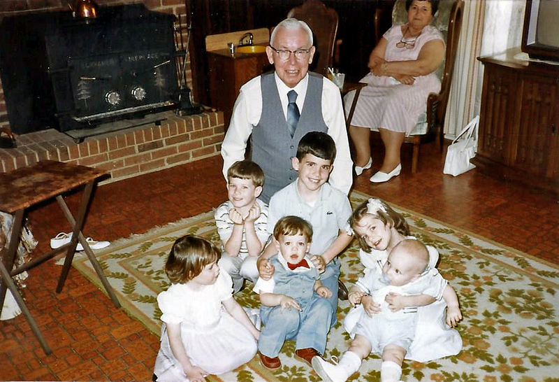 Charlie and his Grands 1985ish