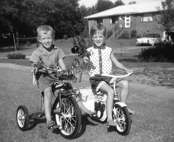 Nancy and Linwood July 1960