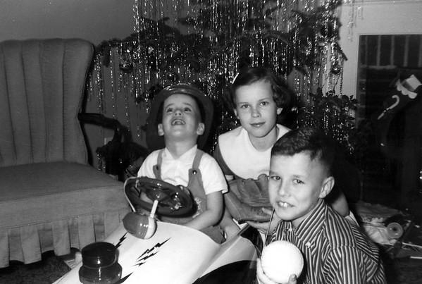 Christmas at Lois Duke December 1957