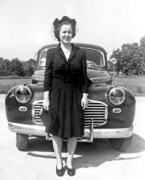 Lois, circa 1952