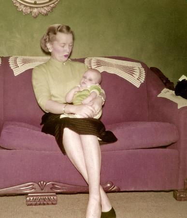 Hazel with Linwood Ten Weeks