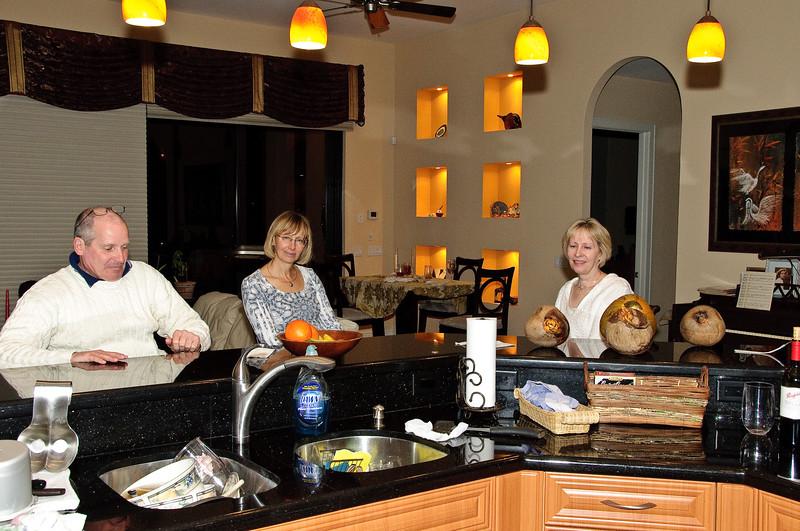 Visit by Carolyn and Wayne Wright (ne Duke)