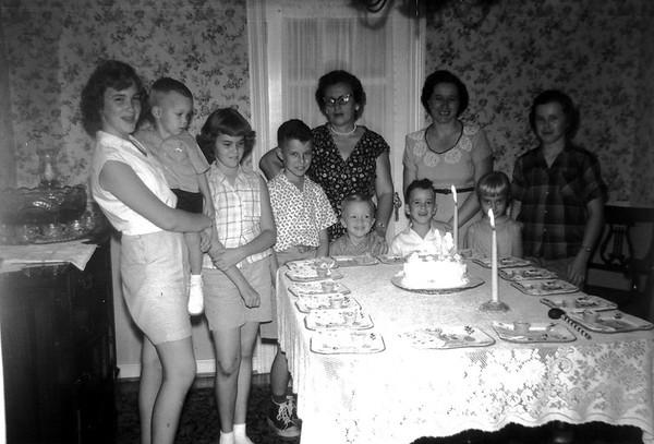 Gary and Linwood Birthday 1959