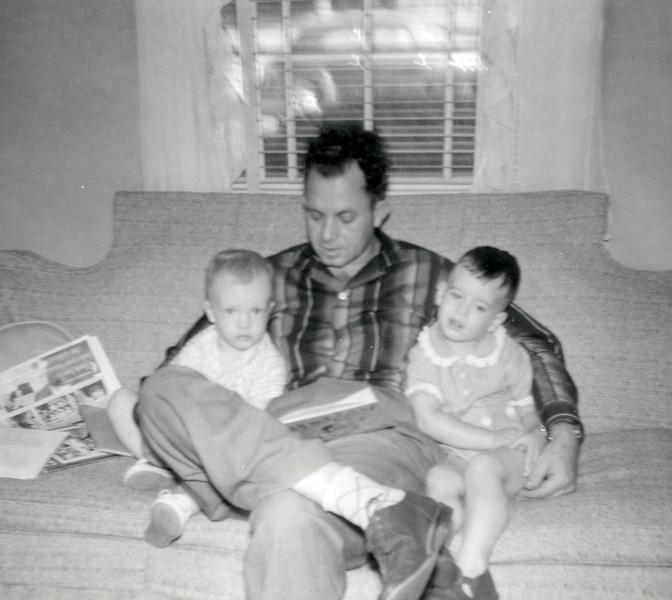 Linwood and Oscar at Gary's Oct 1957