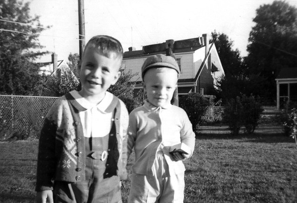 Gary and Linwood maybe 1957