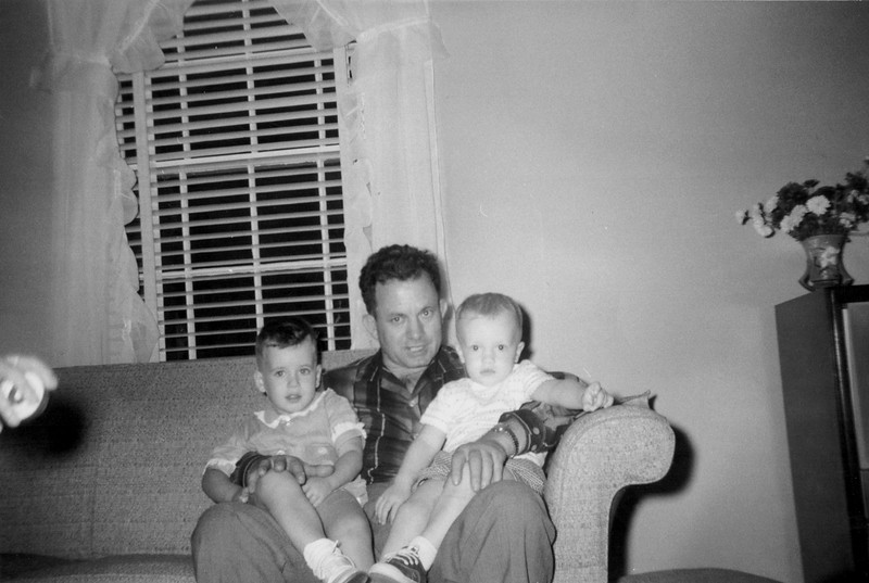 Birthday at Lois October 1957