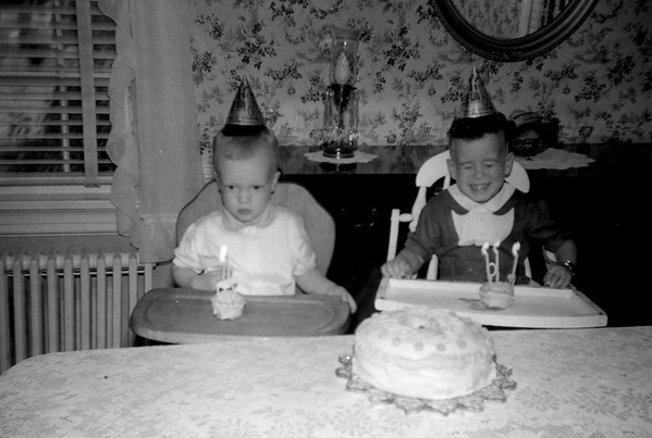 Gary and Linwood Birthday October 1957