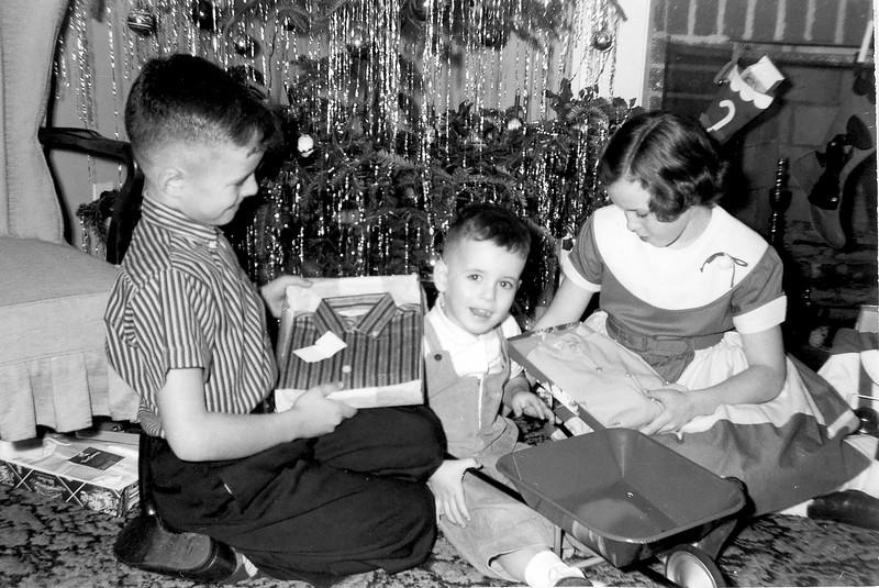Christmas at Lois and Charlie's 1957