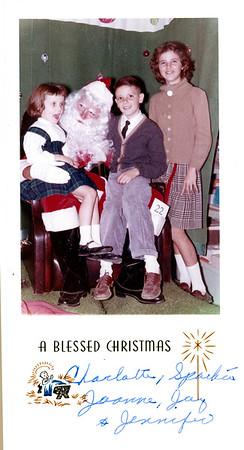 The J's Christmas Card - Circa 1963
