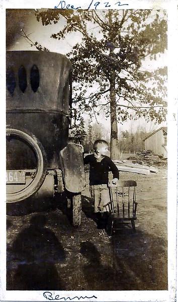 Bennie Duke Dec 1922