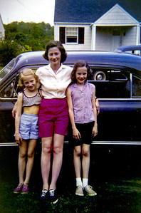 Virginia and Daughters 1958