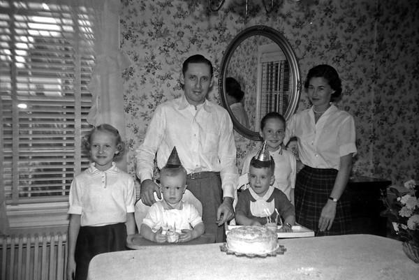 Birthdays with Virginia's family