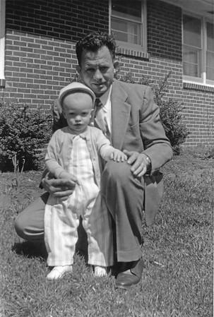 Oscar and Linwood circa 1956