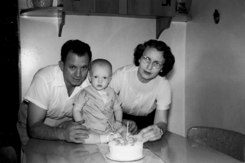 First Birthday October 11, 1956