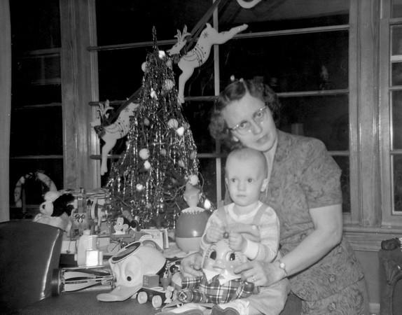 Christmas at Home 1956