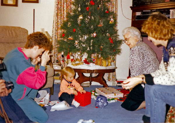 Christmas 1992 at Lizzy's