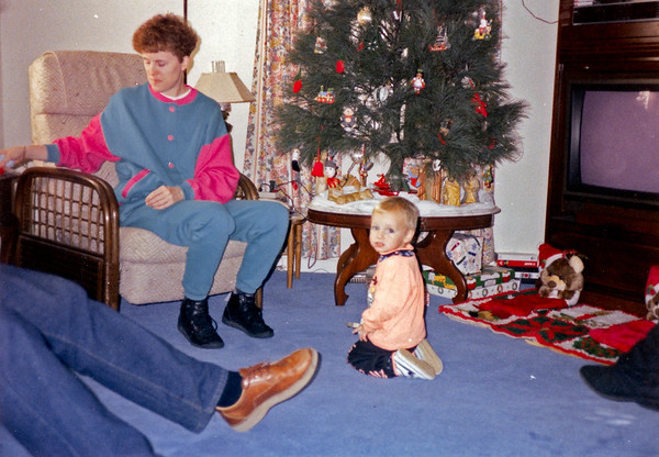 Been at Lizzy for Christmas 1992