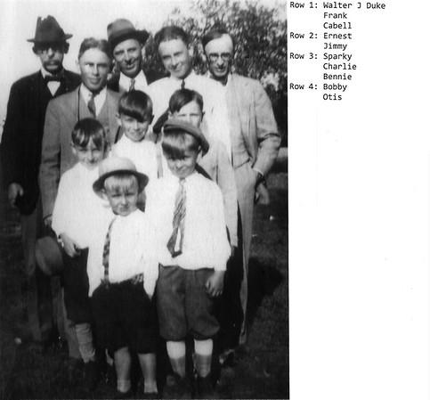 Duke Boys circa 1928